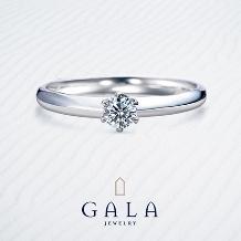 GALA JEWELRY_【GALA】伝統的な立て爪スタイル!婚約指輪といえばこのデザイン☆