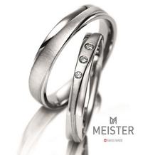 グレイスキタムラ -SINCE1896-_【MEISTER】直線と曲線が織りなすシンプルな美しさ。華やかなダイヤ入り