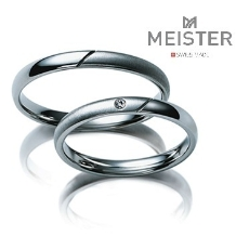グレイスキタムラ -SINCE1896-:【MEISTER】シンプルなラインにツヤ消しとダイヤ留めの職人の技術が光る