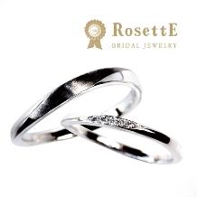 グレイスキタムラ -SINCE1896-:【RosettE】~月明かり~輝くダイヤと曲線が美しいデザイン☆三重県初登場☆