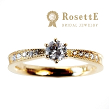 グレイスキタムラ -SINCE1896-_【RosettE~星空~】華奢なラインとミルがダイヤをより輝かせる☆三重初登場☆
