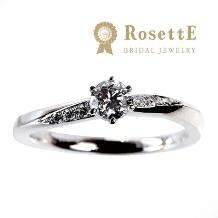 グレイスキタムラ -SINCE1896-:【RosettE】~月明かり~シンプルで美しい曲線が重ねづけに映えるデザイン