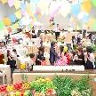 ベルフォーレ松山:【先輩カップルを参考に】パーティー直前の会場見学フェア