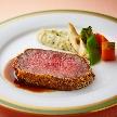 ロイヤルパークホテル:★一番人気★和牛ロースを含むフランス料理6品♪試食付き相談会