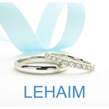 LEHAIM(レハイム)_【レハイム】ダイヤがつながって見える0.5ct。 ボリュームもありワンランク上