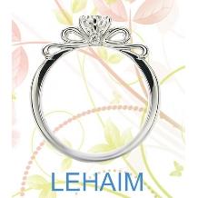 LEHAIM(レハイム)_【レハイム】 女子力満開!カワイイリボンモチーフのリング。他と差をつけちゃお