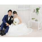 スタジオ撮影、前撮:OSAKA BRIDAL CENTER(大阪府ブライダルセンター)