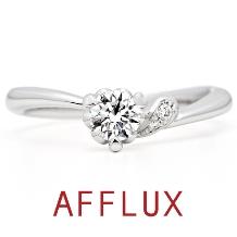 AFFLUX(アフラックス)_ゆびわ言葉:まっすぐな愛 cache cache(カシュカシュ)【アフラックス】