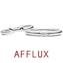 AFFLUX(アフラックス)_ゆびわ言葉:きみに首ったけ N.E.K.O.(ネコ)結婚指輪