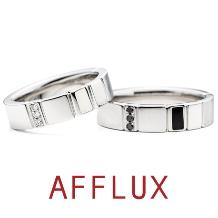 AFFLUX(アフラックス)_ゆびわ言葉:ときめき curious(キュリオス) 結婚指輪 【アフラックス】