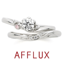 AFFLUX(アフラックス):【ゼクシィ誌面掲載リング】ゆびわ言葉:描いた夢 ma cherie(マシェリ)