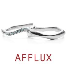 AFFLUX(アフラックス):ゆびわ言葉:うるおい mist(ミスト)結婚指輪【アフラックス】
