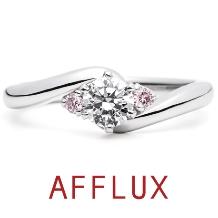 AFFLUX(アフラックス)_ゆびわ言葉:二人の未来 Tsubomi(ツボミ)婚約指輪【アフラックス】