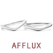 AFFLUX(アフラックス)_ゆびわ言葉:澄んだ心 COURS(クール) 結婚指輪 【アフラックス】