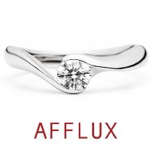 AFFLUX(アフラックス)_ゆびわ言葉:澄んだ心 COURS(クール) 婚約指輪 【アフラックス】