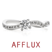 AFFLUX(アフラックス)_8/10発表 ゆびわ言葉:こころと心 kokolo(ココロ)婚約指輪