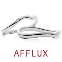 AFFLUX(アフラックス)_8/10発表 ゆびわ言葉:こころと心 kokolo(ココロ)結婚指輪
