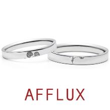 AFFLUX(アフラックス)_【最新号掲載中】ゆびわ言葉:繋がり結ぶ Auhi(アウヒ) 結婚指輪