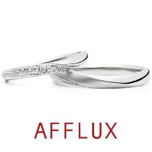 AFFLUX(アフラックス):【誌面掲載人気デザイン】ゆびわ言葉:きみといる幸せ Nana