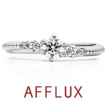 AFFLUX(アフラックス):【誌面掲載人気デザイン】Nana ゆびわ言葉:きみといる幸せ