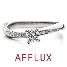 AFFLUX(アフラックス):ゆびわ言葉:心の調和 allier(アリエ)婚約指輪