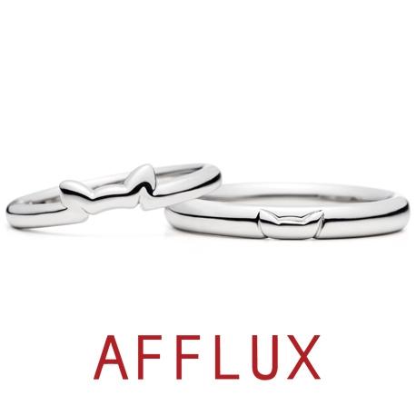 AFFLUX(アフラックス):ゆびわ言葉:きみに首ったけ N.E.K.O.(ネコ)結婚指輪