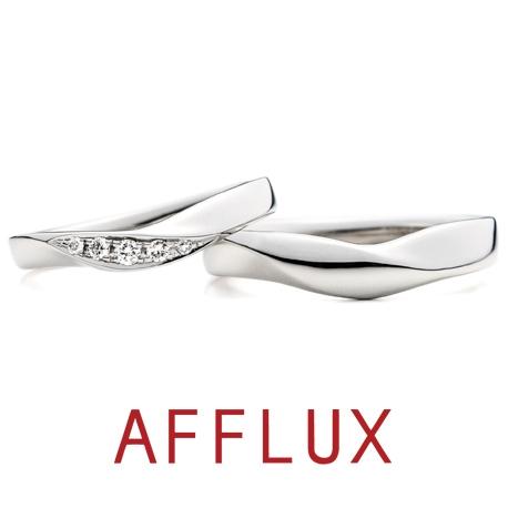 AFFLUX(アフラックス):【誌面掲載リング】ゆびわ言葉:絆 Relation(リレーション)結婚指輪