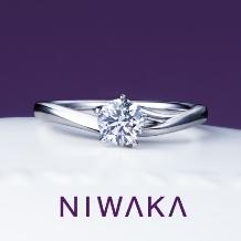 PRIVE ishikawa BRIDAL(プリベ石川 ブライダル)_深めVラインで指をより美しく♪ 俄「初桜(ういざくら)」