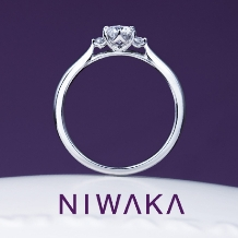 PRIVE ishikawa BRIDAL(プリベ石川 ブライダル)_王道シンプルリング♪ 俄 「白鈴(しろすず)」