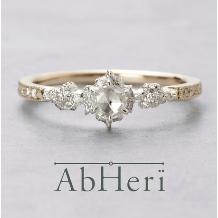 PRIVE ishikawa BRIDAL(プリベ石川 ブライダル)_ローズカットのダイヤモンドが可愛い♪ AbHeri (アベリ)