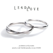 jewelry craft YAMAJI×jewelry terrace SNOW:LEADS LOVE/リードラブ マリッジリング