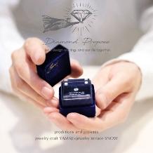 jewelry craft YAMAJI×jewelry terrace SNOW_【プロポーズ男子必見!】ダイヤモンドプロポーズ