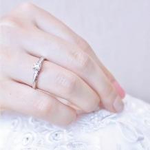 jewelry craft YAMAJI×jewelry terrace SNOW:ECLAIR/エクレア エンゲージリング