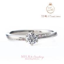 11時のTea time(11時のティータイム)_重なる想い出とダイヤのきらめき…【MILK&Strawberry/アンシャンテ】
