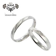 イノウエ_NEW【シンプルで上品なリングシリーズ】立体感あるデザインが男女ともに褒められる