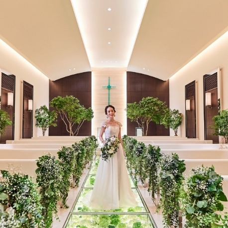 CASA FELIZ(カーサ フェリス):【季節のフレンチ試食】お花のチャペルで花嫁体験フェア