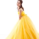 アンヘル:【ディズニープリンセスドレス】元気で可愛く魅せたい花嫁はこちら!