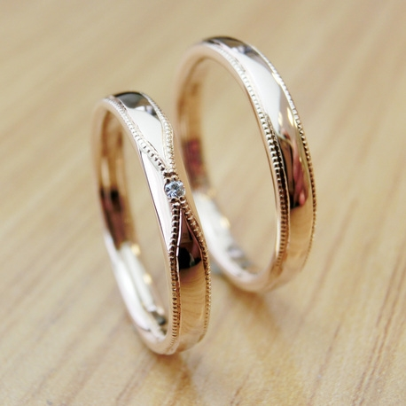 手作り指輪工房 G.festa(ジーフェスタ):【ふたりで手作り結婚指輪】作る時間も心に残る想い出に!