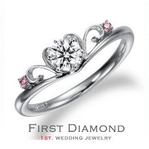 ファーストダイヤモンド_ときに甘く、ひときわ美しく。夢のようなやさしい煌きを、その指に。「ドルファーニ」