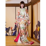 M style wedding:新作 和装 春秋桜花地紋