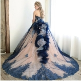 M style wedding:☆NEW☆輝く大人可愛いドレス