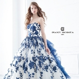 M style wedding:【ISAMU MORITA】新作!繊細かつ大胆なブルーのエンブロイダリーが魅力