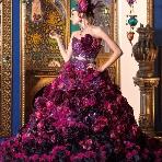 WEDDING BELL(ウェディングベル):【stella de libero(ステラデリベロ)】ゴージャズワインカラー☆