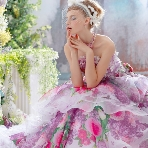 WEDDING BELL(ウェディングベル):【stella de libero(ステラデリベロ)】人気のプリントカラー♪