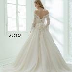 WEDDING BELL(ウェディングベル):【ALESSA(アレッサ)】シンプルかわいい大人ドレス♪