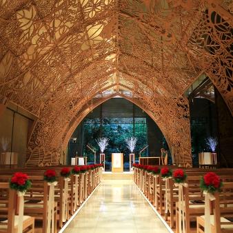 ANAクラウンプラザホテル広島:【Xmas特典付き】木もれ陽のチャペルを体感!クリスマスフェア
