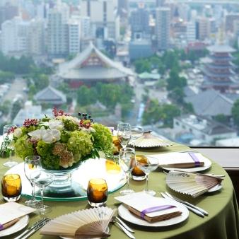 浅草ビューホテル:【QUOカード5000円付】ご家族婚ご相談フェア※無料試食付