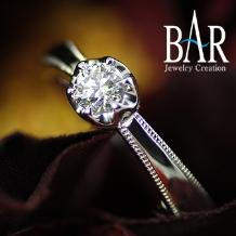 オートクチュール宝飾サロン J.C.BAR (ジェイシーバール)_ここにしかないデザイン!贈り物を意味する指輪☆レガラーレ☆プロポーズリング・富山