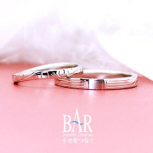 オートクチュール宝飾サロン J.C.BAR (ジェイシーバール)_〈オーダーメイド結婚指輪〉テーマ~ありのままで~【ジェイシーバール】
