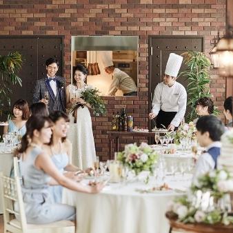 【秋の味覚を堪能】和牛&オマール海老の贅沢試食×大聖堂での挙式体験